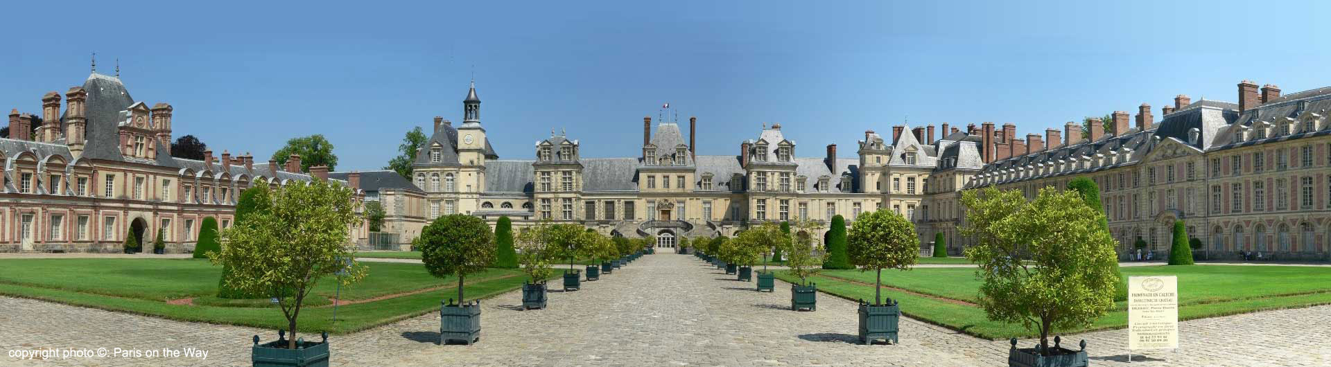 Guided Tour of Fontainebleau